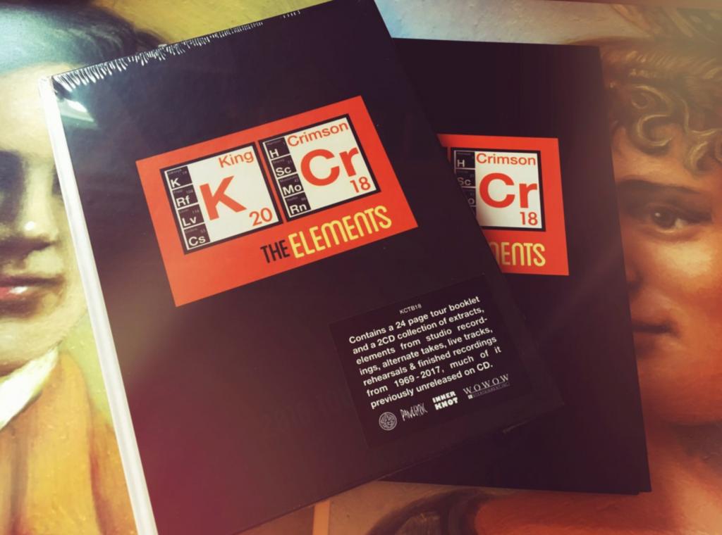 """KING CRIMSON: Announce """"The Elements"""" Tour Box 2018"""